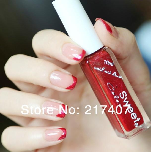 3set /lot Metal Shiny Glitte Nail Soak Off UV nail Gel Polish10ml dust Nail Glitter Powder Spangles For Nails Free Shipping(China (Mainland))