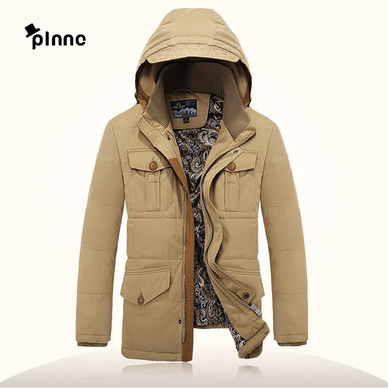 men hooded jacket with thick warm winter coats,Warm Cotton Hooded casual fashion men thick winter coat