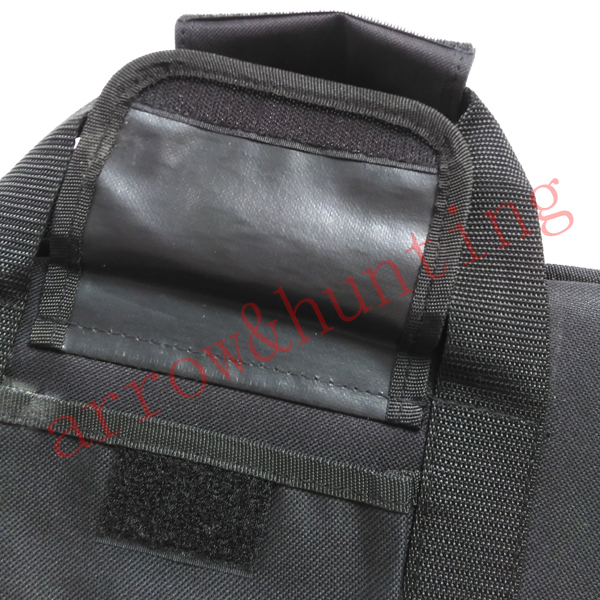 Hunting 600D oxford and leatherette rifle gun bag and hunting shooting gun case