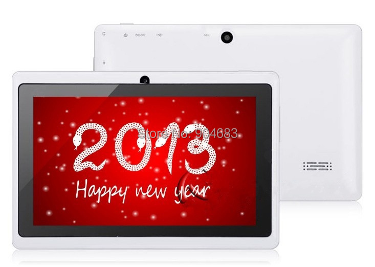 7 inch Q88 allwinner A23 Dual core or A33 Quad Core Android 4 4 2 512M