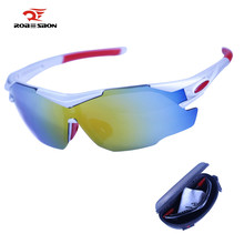 Buy ROBESBON Polarized Cycling Eyewear Outdoor Sports Bike Bicycle Sunglasses Goggles Driving Windproof Eyewear Bicycle Glasses for $5.40 in AliExpress store