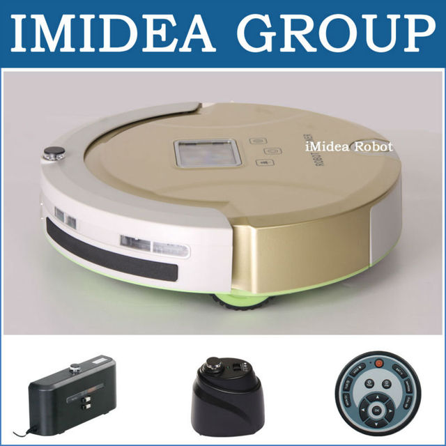 5 In 1 Multifunctional Robot Vacuum Cleaner(Vacuum,Sweep,Sterilize,Mop,Filter) Schedule,2 Virtual Wall,Self Charge,Avoid Bumping