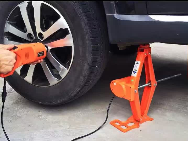 2016 new design electric car jack with 12-45cm .ifting height(China (Mainland))
