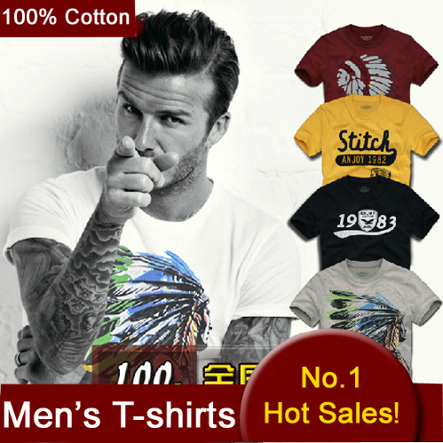 100 Cotton T shirts Men Shorts Sleeve Brand Design Summer male Tops Tees Fashion Casual Tshirts