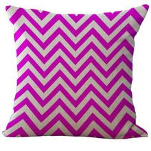 Geometric Fringe Printing Linen Pillow Case Cushion Cover For Home