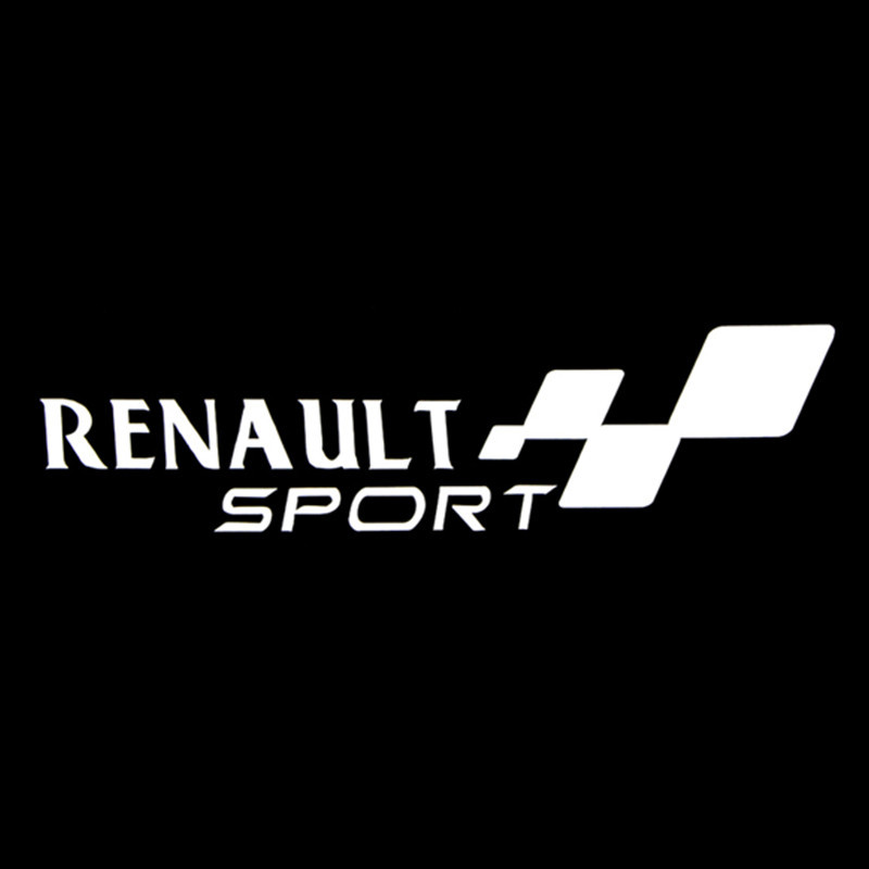 "Free Shipping,car styling,2015 new waterproof ""renault sport ""car sticker for kia rio honda civic car covers(China (Mainland))"