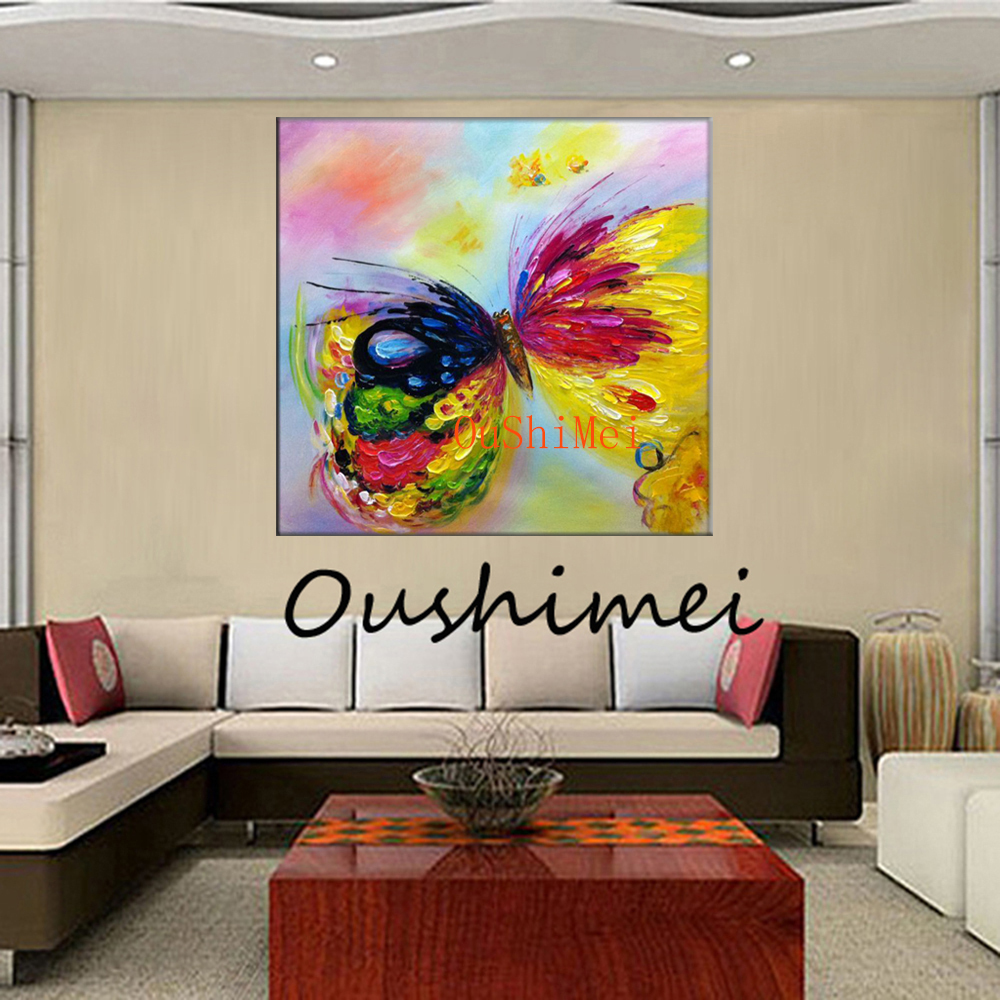 New arrive hand painted paintings abstract picture modern for Wall art painting
