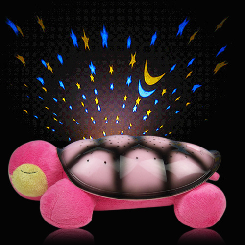 Sleep little turtle night light projector equipped with external MP3 birthday christmas gift Stars Constellation Lamp Toy<br><br>Aliexpress