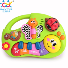 Toddler Learning Machine Toy with Lights, Music Songs, Learning Stories and More,Toy Musical Instrument Huile Toys 927 Baby Toys(China (Mainland))