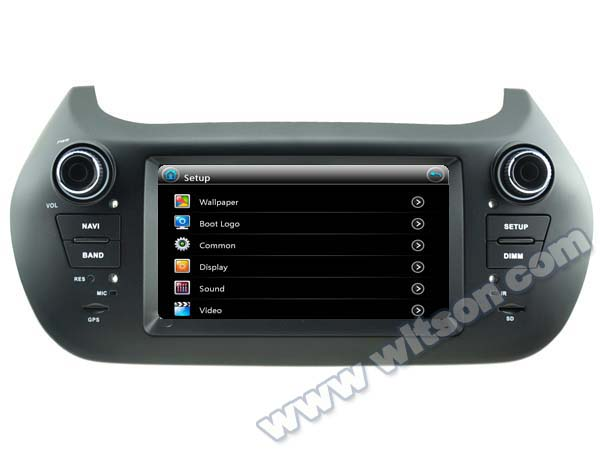 """6.1"""" Special Car GPS Navigation for Fiat Fiorino 1977-2016 with Built-in Analog TV Function & Front DVR Camera Support(China (Mainland))"""