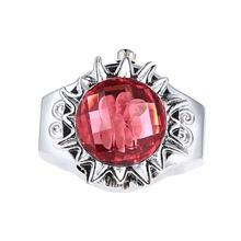 New Hot Sale Elegant  Rose Rhinestone Charming Girls Finger Ring Watch Women Men Quartz Watch Clock Female