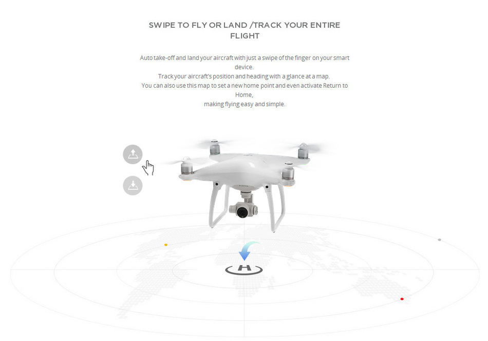 2016 Original camera drone DJI Phantom 4 RC Helicopter drone with 4K camera and 3-Axis Gimbal FPV quadcopter For Photographer