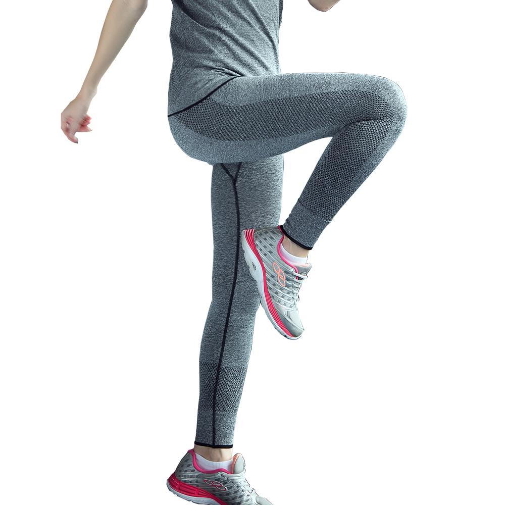 Women Sport Leggings For Yuga Running Training Bodybuilding Fitness Clothing Gym Clothes For Women Pants Elastic Jegging(China (Mainland))
