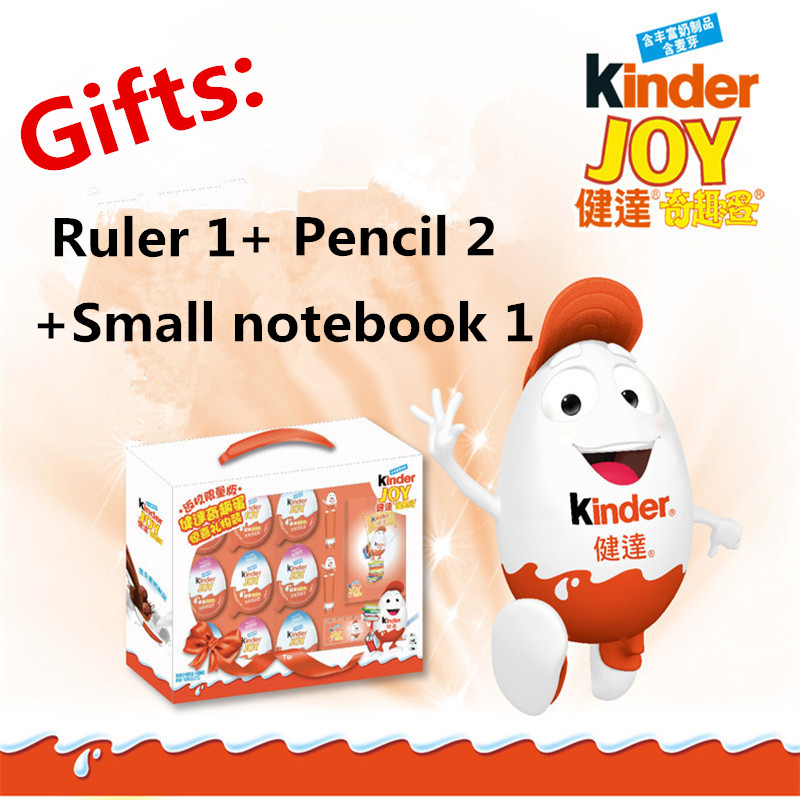 Kinder Surprise Eggs Gift Boxes With 9 Eggs Chocolatetoyssurprise Most Surprise Gift For Kids Handsel Pencil Notebook Ruler kopen