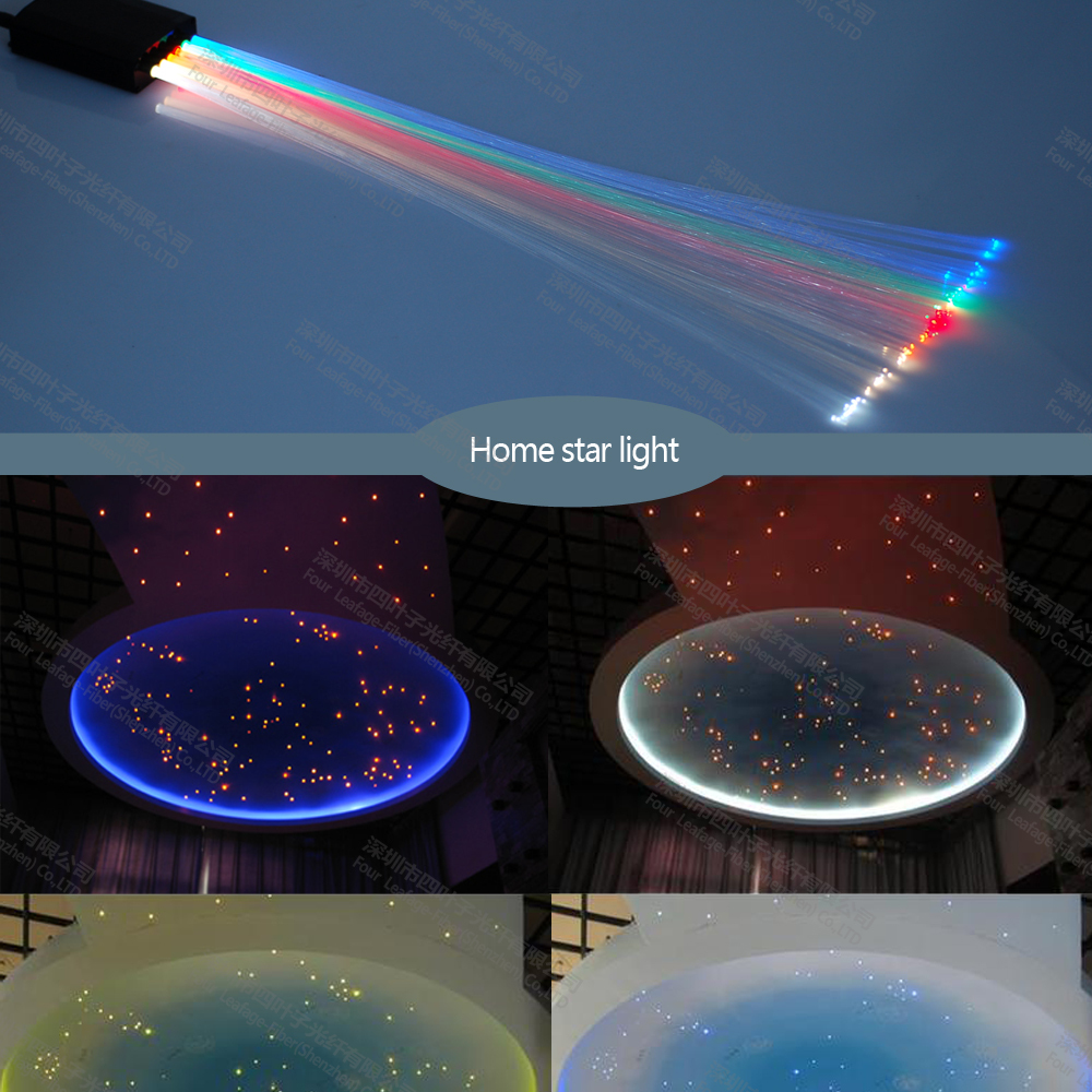 buy ceiling plastic kit fiber optic starry sky light with 6 different color 0. Black Bedroom Furniture Sets. Home Design Ideas