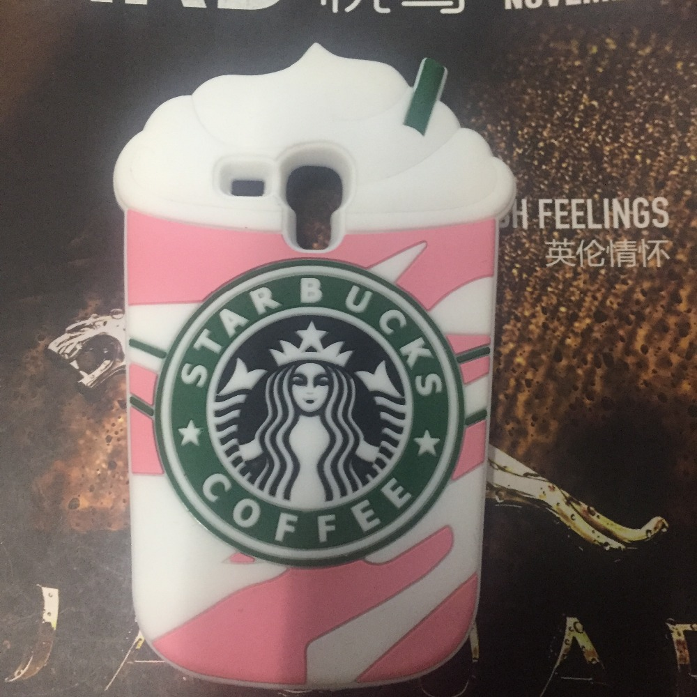 1Samsung Galaxy S Duos S7562 GT-S7562 7562 Starbucks Coffee Cups Silicone Cell Phone Soft Case Cover Skin