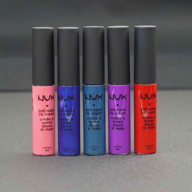 Hot Sale NEW Brand Makeup Lip Gloss THE ORIGINAL LIQUID MATTE LIPSTICK black blue red nude color for choice(China (Mainland))