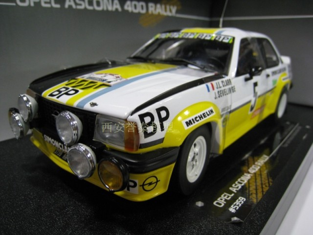 1:18 400 Rally Car Model Alloy Toy Free shipping(China (Mainland))