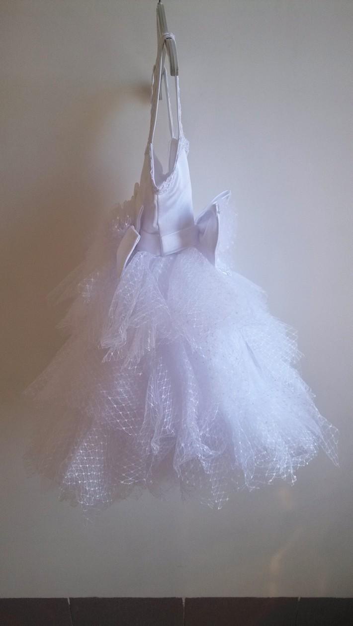 Скидки на ДЕТСКИЕ WOW Новорожденных Одежда Девочка Крещение Платья Vestido Infantil Menina для 1 Год Рождения Первое Причастие Платья 8046
