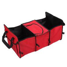1Pc Car trunk storage bag folding truck box Trunk Tidy Bag Organizer Storage Box cooler - Top Auto Accessories Mall store
