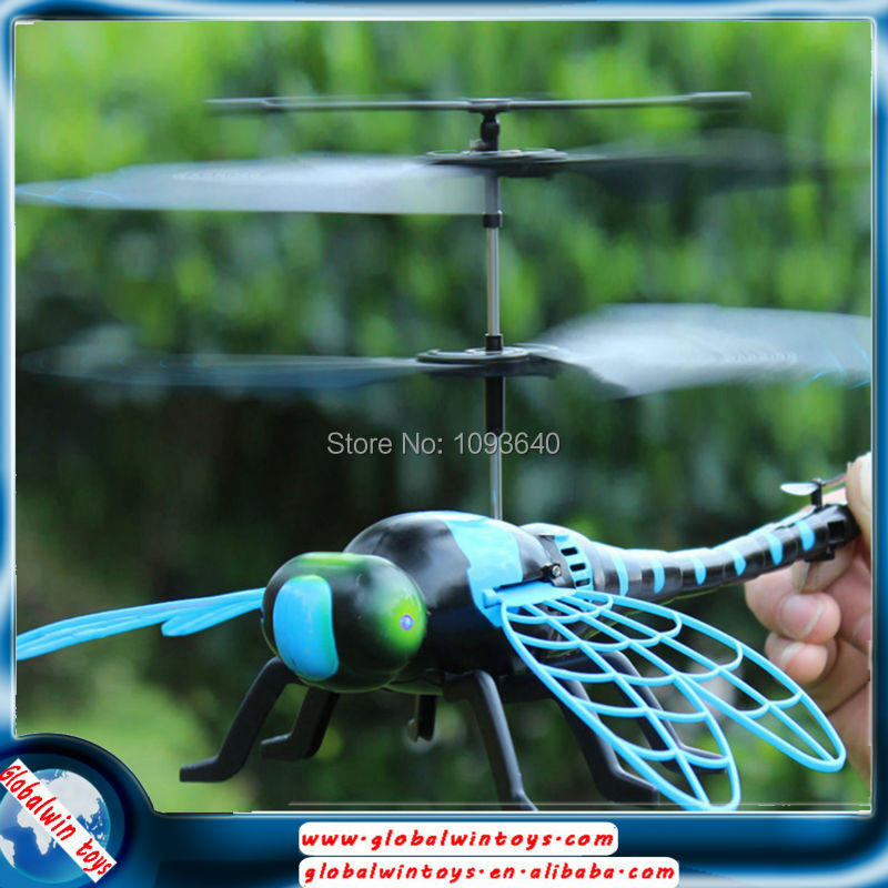 free shipping rc animal 4.5channel rc dragonfly toy<br><br>Aliexpress