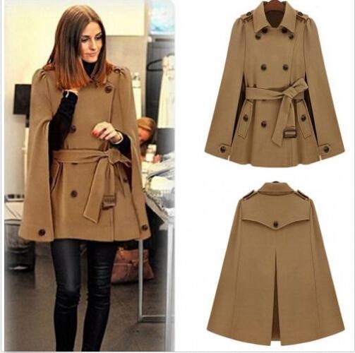 Achetez en gros ceintur e veste cape en ligne des grossistes ceintur e veste cape chinois - Cape femme hiver ...