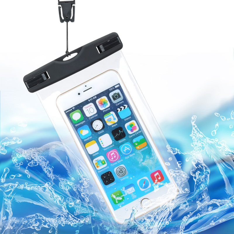 Waterproof Bag With Luminous Underwater Pouch Phone Case For iphone 5 5S SE 6 6s Plus For Samsung Galaxy S6 S7 edge Note 7(China (Mainland))