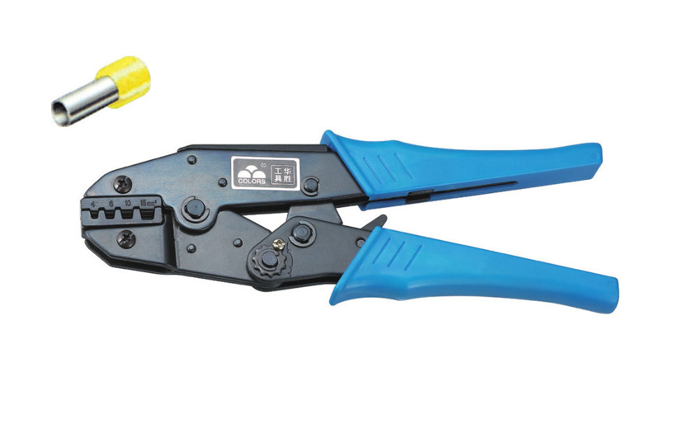 Ratchet crimping plier4,6,10,16mm2  AWG12-6 terminals crimping tools  multi crimping pliers(EUROPEAN STYLE))<br><br>Aliexpress
