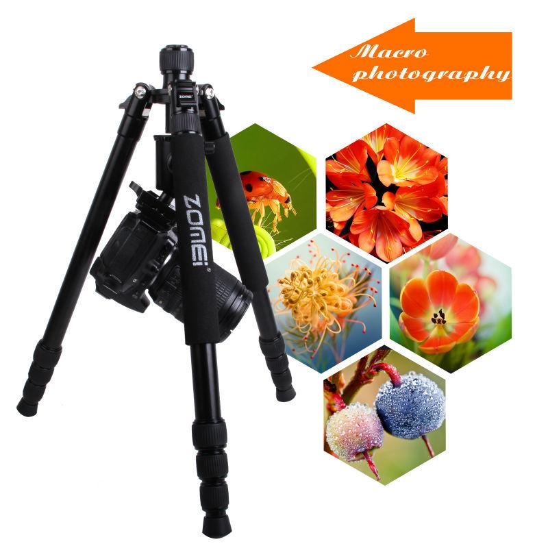 11.11 горячие продаж Zomei Z818 алюминиевая камера штатив Монопод с шаровой головкой для DSLR зеркальные