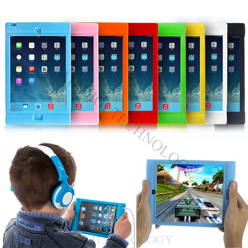 mini iPad Protective Shockproof Rubber Silicone Case Cover Apple Mini 1/2/3 Retina Drop Proof Kids Children - AIRDIGI TECHNOLOGY CO., LTD store