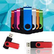 2016 Real Capacity USB 2.0 pen drive 4/8/16/32/64 GB usb flash drive metal memory disk  hot sale(China (Mainland))