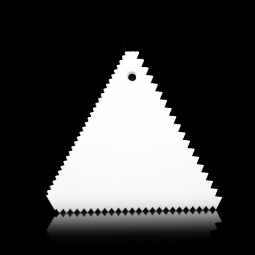 Гаджет  Triangle Sawtooth Shape High Quality Plastic Cake Smoother,Cake Scraper,Classic Fondant Tools Cake Decorating Tools None Дом и Сад