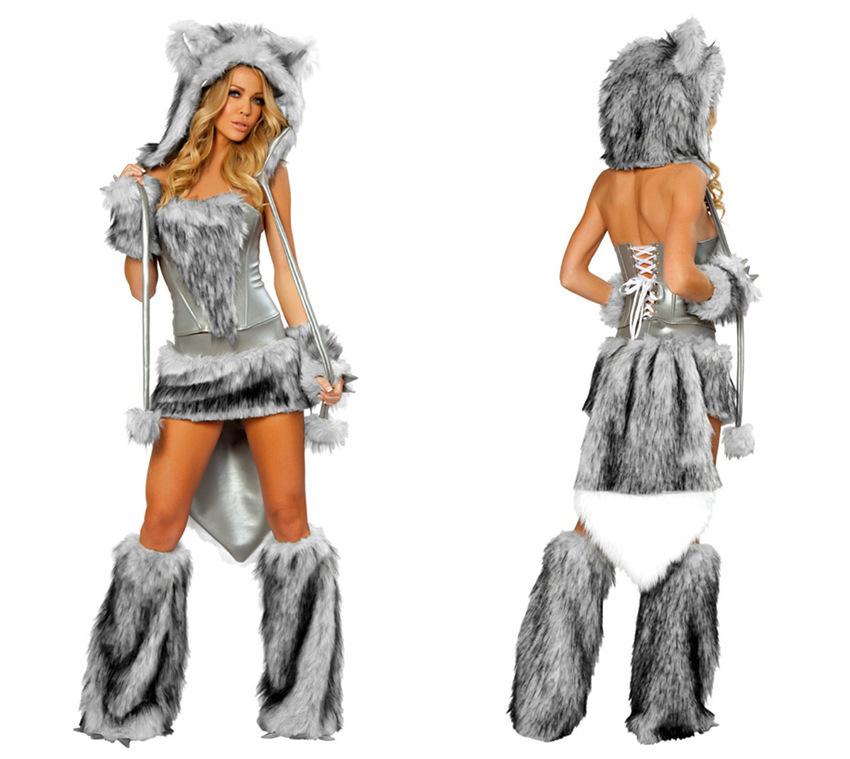 Wolf furry costume - photo#7