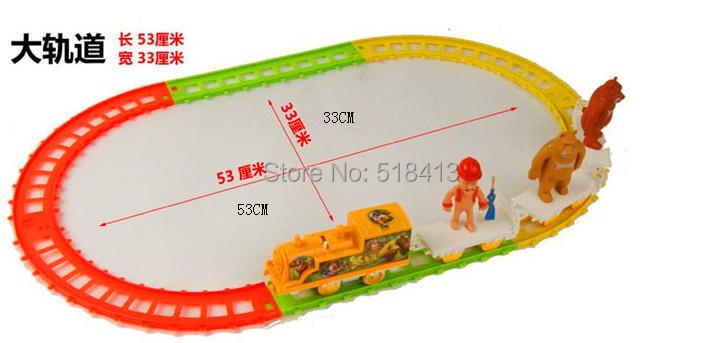 Bears toys Thomas orbits train fancy small electric locomotive bald(China (Mainland))
