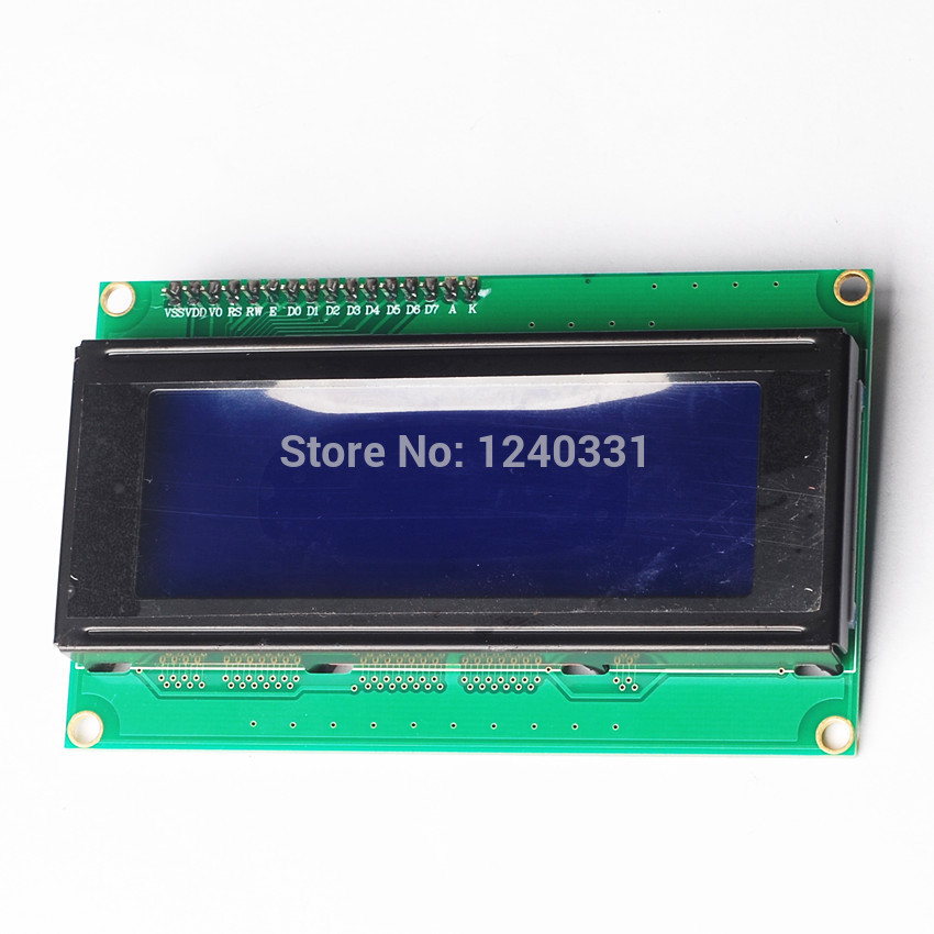 New 2004 204 Character LCD Module 20X4 LCD Display Serial IIC/I2C/TWI PCB Board For Arduino(China (Mainland))