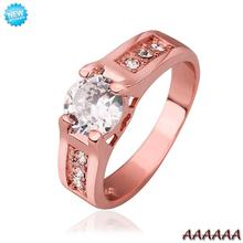 R549 WholesaleHigh QualityNickle Free AntiallergicNew Fashion Jewelry 18K Real Gold PlatedRing For Women Free Shipping(China (Mainland))