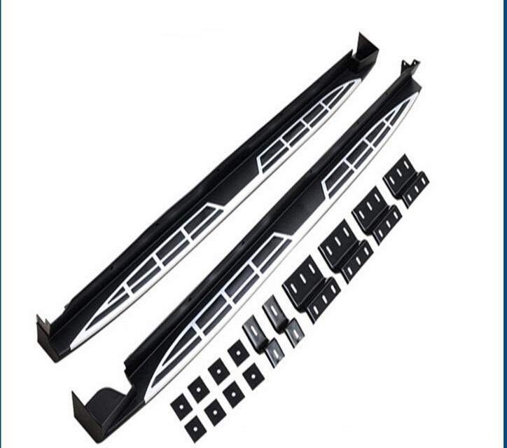 HIGH QUALITY aluminium Alloy+ABS IX45 SANTAFEE running board side step bar 2010-2015 CAR RUNNING BOARD FOR IX45 SANTAFEE(China (Mainland))