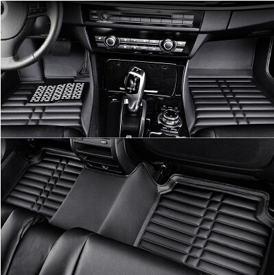 New arrival & Free shipping! Custom special floor mats for Toyota Corolla 2013 waterproof durable carpet for Corolla 2012-2007(China (Mainland))