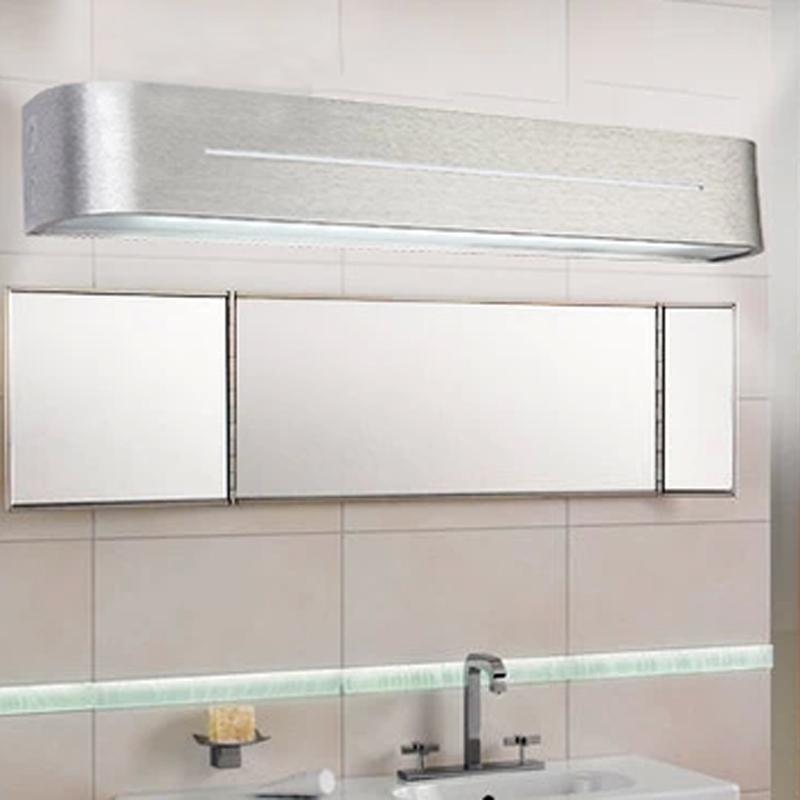 modern Led wall light brief bathroom mirror 10W aluminum lamp waterproof 110V 220V - SDF lighting technology solution store