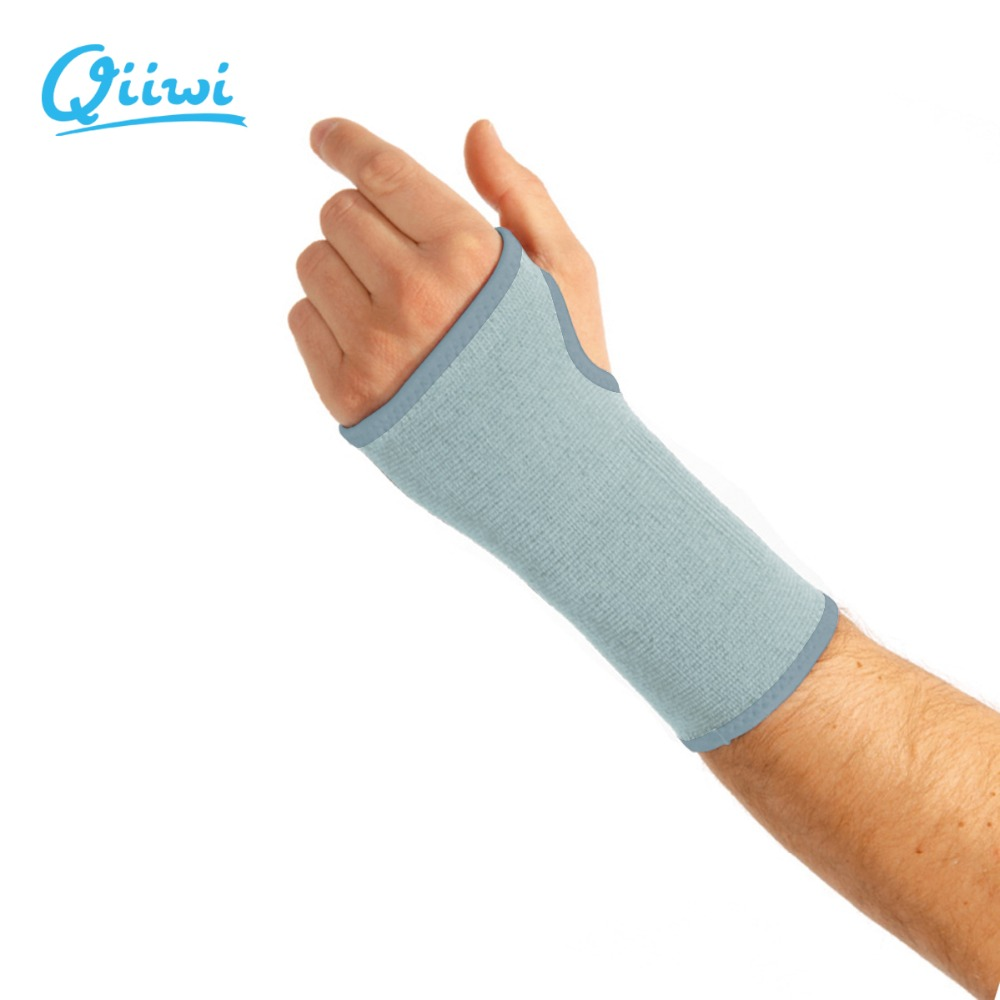 Sports elastic breathable wrist guard stretchy  joint brace palm support fitness training sleeve gloves gym bandage protector