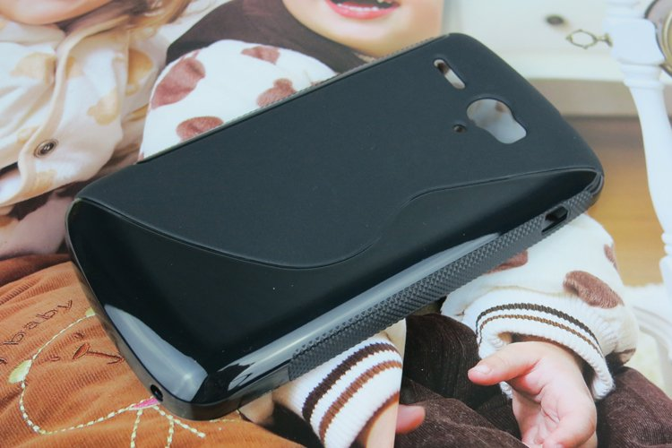 Black Protective Soft TPU Back Case For Huawei G500 pro U8836D S style Cell Phone Cover 5 color free shipping