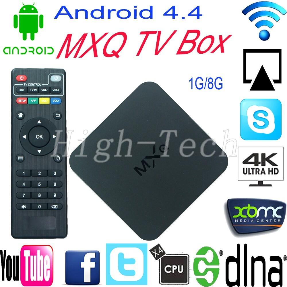 MXQ Android TV Box Amlogic S805 Quad Core Smart TV 1G/8G HDMI OTG RJ45 USB H.265/HEVC 1080P KODI Media Player Miracast Bluetooth(China (Mainland))