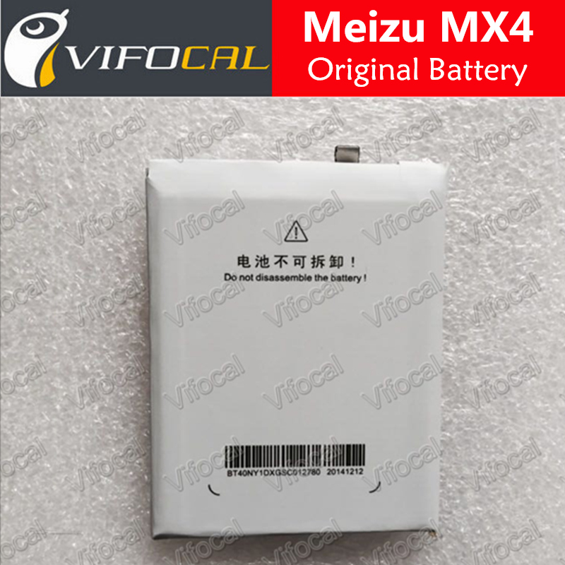 Meizu MX4 battery 3100mAh BT40 100% Original Replacement Accessory For Meizu mobile phone + Free Shipping + Tracking Number