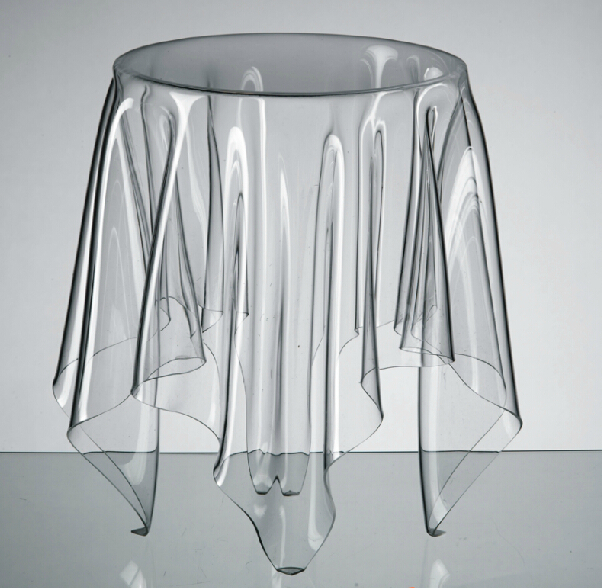 1 piece john bauer design acrylic 13x13x17 39 39 essey ghost tea table coffee table in plastic Ghost coffee table