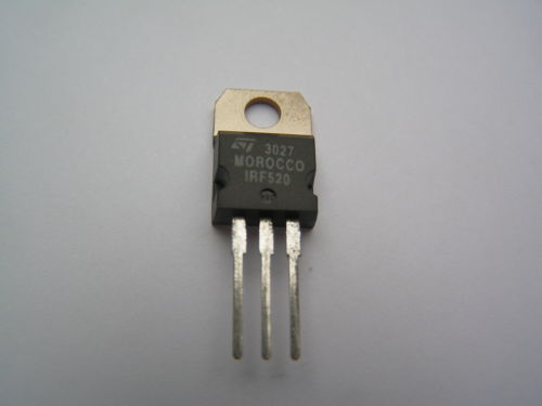 S.T. IRF520 Low Gate Charge Power Mosfet.(China (Mainland))