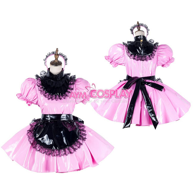 Online Kaufen Großhandel rosa pvc kleider aus China rosa