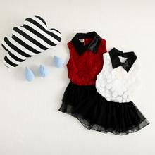 Hot Sale! new 2015 Summer Girl Dress Children baby girl clothes purified cotton girls clothing Sleeveless Princess Dress 2-6T