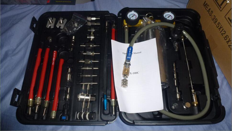 MST-GX100 NON DISMANTLE Fuel Injector Cleaning Kit High Performance(China (Mainland))