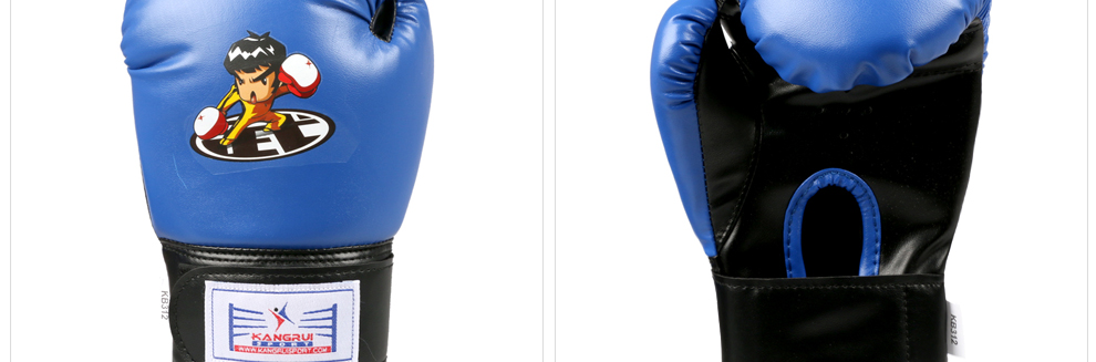 2017 Good quality child Boxing Gloves kids MMA frighting glove breathable Training Punching bag funny cartoon  toy boxing glove