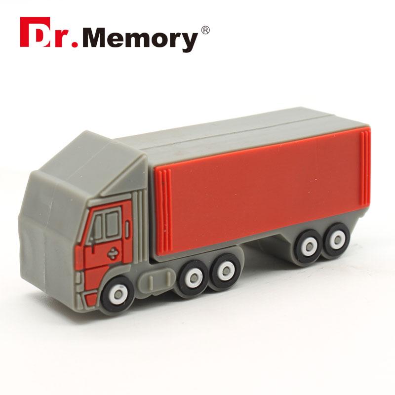 cartoon min Truck shaped USB Flash Drive pen drive usb drive memory stick 8GB 16GB 32GB(China (Mainland))